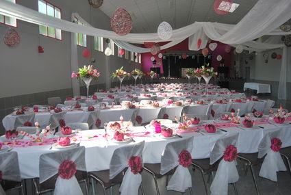 Deco salle et table de mariage d occasion Pyrénées Hautes