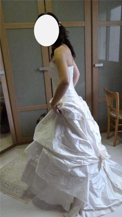 Robe de mariage Cymbeline en taffetas couleur ivoire