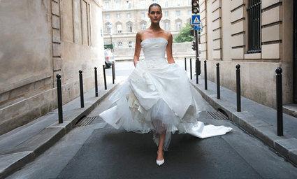 Robe de mariée Cymbeline Bruand pas cher avec boléro