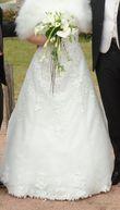 Robe de mariée Ivoire Libellule Hervé Mariage T38 - Occasion du Mariage