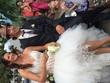 Robe de mariée courte devant longue derriere - Occasion du Mariage