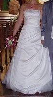 Robe de mariée en très bon état  pas cher d'occasion 2012 - Ile de France - Yvelines - Occasion du Mariage
