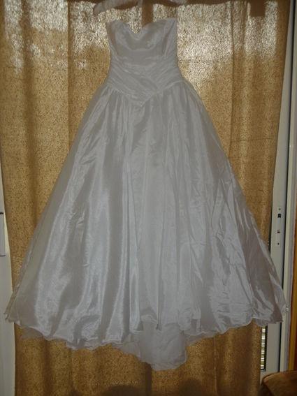 Robde de mariée bustier perles pas cher 2012 - Occasion du Mariage