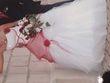 Robe de mariée taille 38 avec jupon et étole - Occasion du Mariage