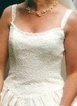 Robe de Mariée d'occasion Ivoire, bustier en dentelle + jupon - Occasion du Mariage