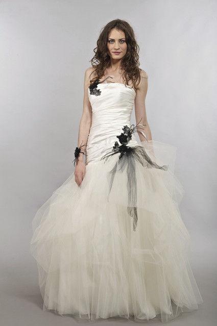 Robe de mariée bustier modèle Madison de Lambert Créations