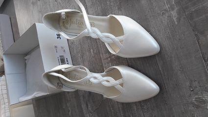 Escarpins de mariée  - Gironde