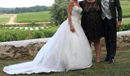 Robe de mariée Noce de Tulle - Pronuptia 2013 - Taille 38