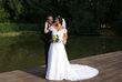 Robe de mariée Complicité avec traîne d'occasion