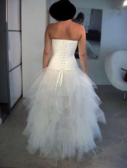 Robe mariée modèle DUO de Cymbeline en occasion pour 2013