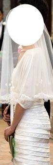 Robe de mariée fourreau/sirène de Cymbeline modèle EVLIN soie et dentelles