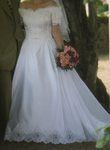 Robe de mariée blanche d'occasion taille 38/40 très légère