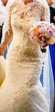 Robe de mariée - créatrice Anna Romysh, taille 36 - Occasion du Mariage