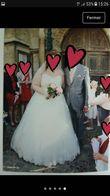 Robe de mariée voile jupon - Occasion du Mariage