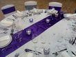 Location de nappe ronde blanche - Occasion du Mariage