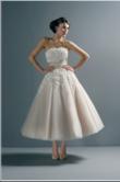 Robe de mariee vintage 50\'s neuve ivoire/champagne - Occasion du Mariage