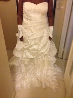 Robe de Mariée d'occasion + voile et boléro