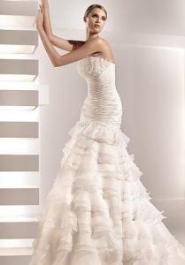 Robe de mariée pas cher Galena de Pronovias 2012 - Occasion du mariage