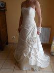Robe de mariée Promesse en soie - ivoire T40 pas cher d'occasion 2012 - Ile de France - Yvelines - Occasion du Mariage