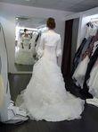 Robe de mariage d'occasion +  jupon et boléro
