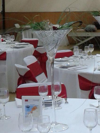 Housses de chaises en d coration de table de mariage seine et marne - Housse chaise mariage occasion ...