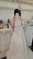 Robe de mariée en dentelle pas cher en 2012 - Occasion du Mariage