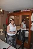 Robe de mariée 50/52 création couturière grande taille