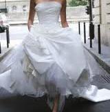 Robe de mariée Cymbeline d'occasion T36  couleur écru