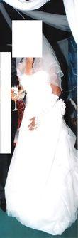 Sublime Robe de Mariée avec strass - Occasion du Mariage