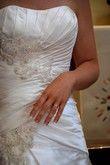 Robe de marièe en satin - Occasion du Mariage