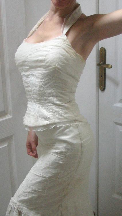 Superbe robe de mariée Linéa Raffaelli glamour et originale