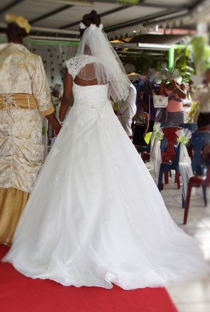 Robe de Mariée - Martinique