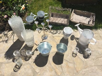 Décoration champêtre pour mariage- article divers - Yvelines