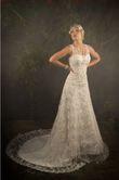 Robe de mariée neuve T38 couleur ivoire