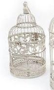 cage à oiseau décor mariage - Occasion du Mariage