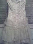 Robe de soirée/mariée bustier courte T34-36 pas cher d'occasion 2012 - Ile de France - Essonne - Occasion du Mariage