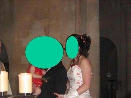 Robe mariée taille 40 création Bochet d'occasion