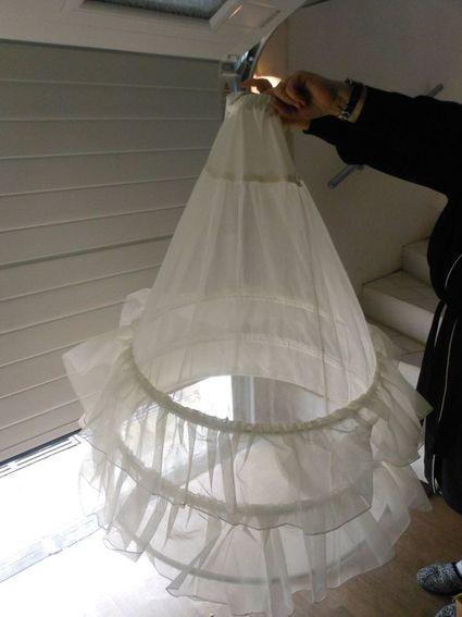 Jupon robe de mariée - Ardennes