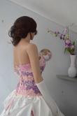 Robe de mariée pas cher en taffeta dentelle Paris 2012  - Occasion du Mariage