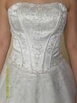 Robe de Mariée bustier originale ivoire pas cher 2012 - Occasion du Mariage