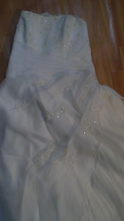 Robe de mariée bustier de mariée d'occasion et pas cher 2012 - Occasion du mariage