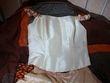 Jolie Robe de mariée (bustier + robe) taille 42 d'occasion