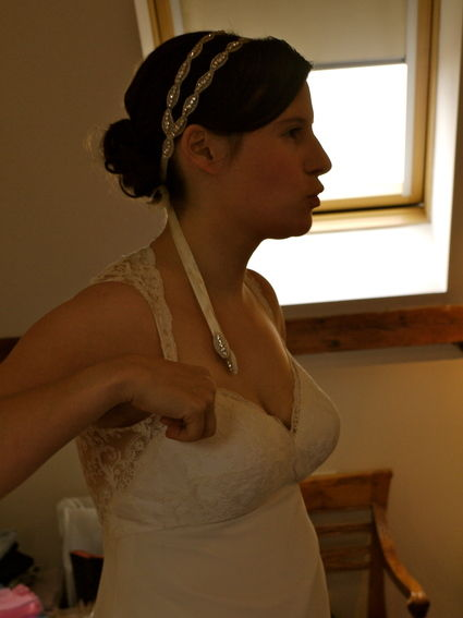 Robe de mariée d'occasion modèle Thais des Ateliers d'organse à Paris
