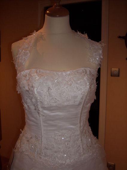 Robe de mariée bustier ivoire modèle Anadia de Complicité