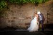 Robe de mariée ivoire courte devant avec légère traîne