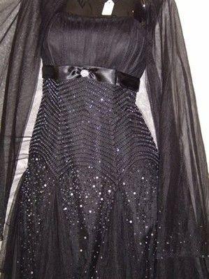 Robe de coktail NEUVE noire de Fara Difusion pas cher d'occasion 2012 - Lorraine - Moselle - Occasion du Mariage