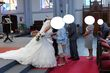 robe de mariée cosmobella 7609 taille 44 - Occasion du Mariage