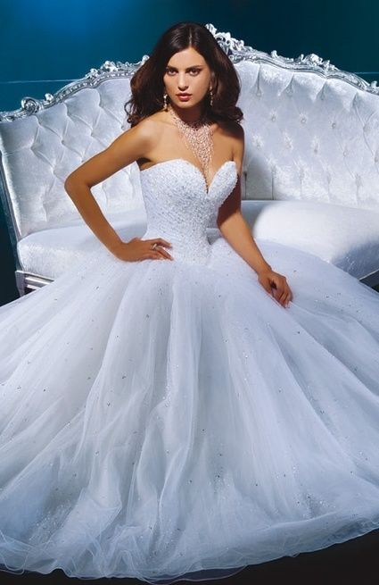 Robe mari e demetrios 937 t36 voile et jupon marseille for Nettoyage de robe de mariage milwaukee