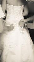 Robe bustier / jupon / bolero - Occasion du Mariage