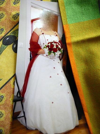 robe de mariée d'occasion taille 42-44
